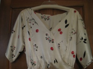 Kimono bodice